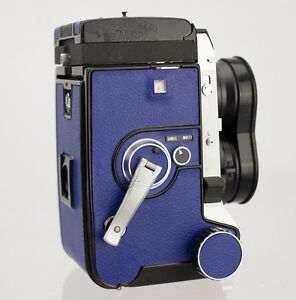 Mamiya C330-F Replacement Cover, Laser Cut - Recycled Leather