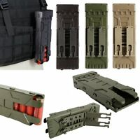Tactical Airsoft Molle 12 Gauge Shotgun Magazine Shell Pouch 10 Round Holder VS