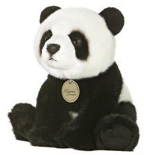 Teddy Bear panda plush black white soft Cuddly cute stuffed animal gift new girl