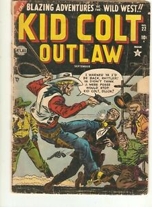 KID COLT Outlaw #22