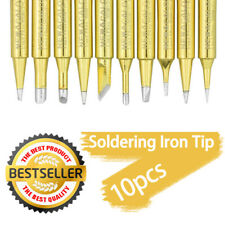 10Pcs Solder Screwdriver Soldering Iron Tips for Soldering Station 900M-T Tool
