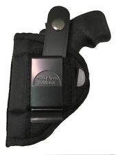 Gun holster fits Ruger LCR with laser grips use left or right hand draw
