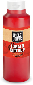 Uncle Johns Tomato Ketchup Squeezy Bottle 1 Litre