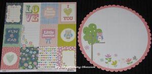 "Kaisercraft 'SUGA POP' 12x12"" Paper Floral/Owls (You Choose) KAISER *DELETED*"