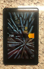 "Amazon Kindle Fire D01400 1st Generation 7"" Black Ebook Reader 8GB {81599}"