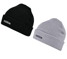 Adidas Mens Womens Beanie Winter Hat CLSC Warm Hats Golf Beanies