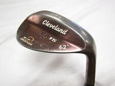 Cleveland CG15 (Oil Quench) 62* Lob Wedge Traction Wedge flex Steel Used RH