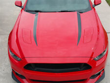 FOR 2015 2016 NEW FORD MUSTANG HOOD SPEARS STRIPES VINYL DECALS GRAPHICS STICKER