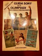 LIBRO GUIDA SONY ALLE OLIMPIADI LOS ANGELES 1984 EMERY DAVID PELHAM BOOKS 1984
