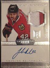 Joakim Nordstrom Dominion Autograph Auto Patch Jersey Hurricanes Blackhawks /199