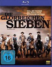 Die glorreichen Sieben - Yul Brynner - Steve McQueen - Blu-ray Disc - OVP - NEU
