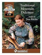 NEW Traditional Mountain Dulcimer (Book/CD) by Jean Ritchie