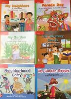 Kindergarten Readers Children's Fiction Set of 8 Books Wonders McGraw Hill