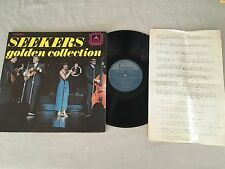 THE SEEKERS GOLDEN COLLECTION + MUSIC SHEET 1971 AUSTRALIAN RELEASE LP