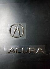 2    ACURA emblem aftermarket foam filled