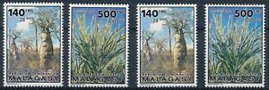[I447] Madagascar 1990 trees 2x good stamp very fine MNH