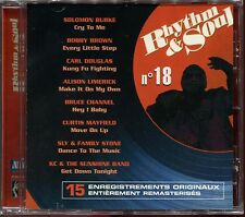 RHYTHM & SOUL - N°18 - MOTOWN - CD COMPILATION NEUF SOUS CELLO