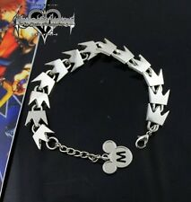 Kingdom Hearts KH Sora Crown Chain Silver Bracelet Cosplay Gift Hand Chain