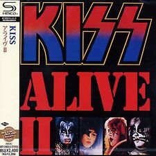 KISS - ALIVE II - Japan Jewel Case SHM 2 CD
