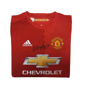 Manchester United Wayne Rooney 2016-17 (Home) Signed Shirt RRP £299