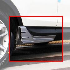 Painted Silver Side Wing Garnish Molding 2p For 13 14 Hyundai SantaFe SPORT DM