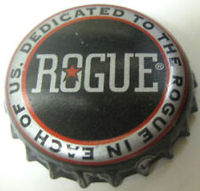 ROGUE Dedicated ... Beer CROWN, Bottle CAP with STAR Rogue Ales, Newport, OREGON