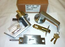 Falcon Y581P6 DAN 626 Commercial Storeroom Lock Grade 2 Keys SATIN CHROME NEW