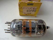 Ecf80 Amperex Austria USATO VECCHIO STOCK tubo valvola 1pc