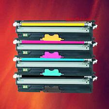 4 Color Toner Type D1 Set for Okidata OKI C110 C130