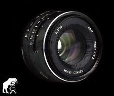 Bilora Voking 50mm f 2,0 für Sony Nex3 3N 5 5T 5R 6 7 A5000 A5100 A6000 A6100