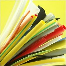 Heatshrink Tubing Coloured 10 Metre Pack Sleeving Kit 1.6 to 12.7mm Heat Shrink