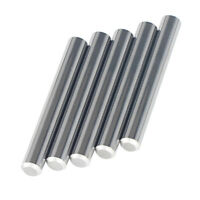 5Pcs Tungsten Carbide Rod, D3/8x3  Precision Ground, Polished, Chamfer one End