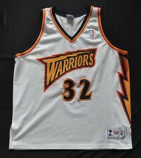 JOE SMITH GOLDEN STATE WARRIORS JERSEY WHITE THUNDERBOLT SEWN AUTHENTIC MENS 52