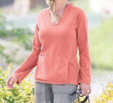 Organic Cotton Regular Solid S Sweats & Hoodies for Women
