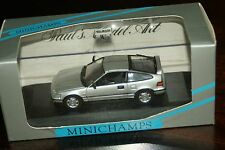 1/43  MINICHAMPS Honda CRX Si Silver