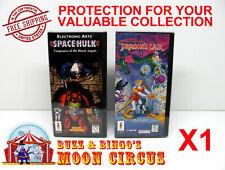 1x PANASONIC 3DO CIB SNAPBACK GAME BOX - CLEAR PROTECTIVE BOX PROTECTOR SLEEVE