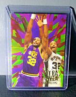 1995-96 Karl Malone Fleer Ultra Ultra Power #5 Basketball Card