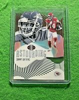 SAMMY WATKINS ASTOUNDING RED CARD SP#/50 CHIEFS 2019 PANINI ILLUSIONS FOOTBALL