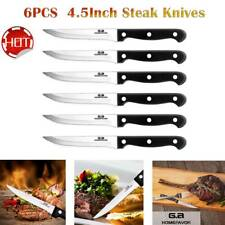 Professional Set of 6PCS Stainless Steel Steak Knives Kitchen Tools Sharp knife