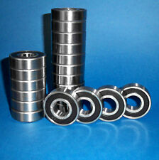 100 Kugellager 6204 2RS / 20 x 47 x 14 mm
