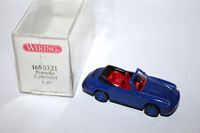 Wiking 1:87 1650321 Modell Sportwagen Porsche Carrera 4 Cabriolet mit OVP