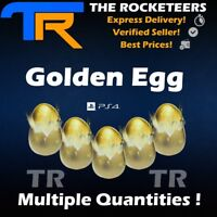 [PS4/PSN] Rocket League Golden Egg Multiple Quantities Limited Anniversary Crate