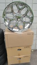 "22"" RAM 1500 2019 NEW SET OF FOUR FACTORY SPEC CHROME WHEELS RIMS 5668 DEEP DISH"