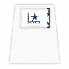 NFL Dallas Cowboys Micro Fiber Sheet Set, Twin, 3 piece