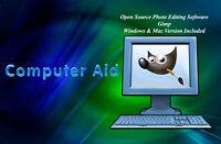 GIMP 2.10 - Photo Image Editing Software - Win & Mac - DVD - Pick Version