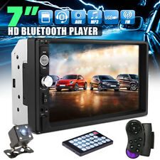 "7"" 2Din Touch Screen Car Stereo MP5 Player Radio with SD/USB/Bluetooth +Camera"