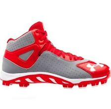 Under Armour Spine Heater Mid TPU Men's Baseball Cleats 1250050-026 MSRP $70