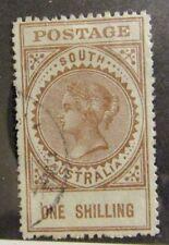 SOUTH AUSTRALIA Scott #155 Θ  used, very fine + 102 card
