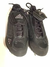 Adidas Excelsior Low Baseball Cleats Black/Black Sz 7 New In Box