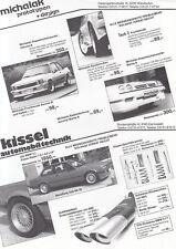 MICHALAK TUNING Opel Manta Ascona B Cilindro Sportscar Prototyp Prospekt /17